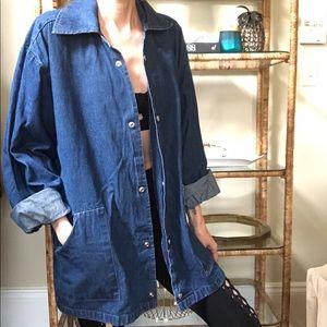 Vintage duster denim jacket